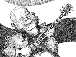 B.B. King illustration