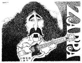 Frank Zappa illustration