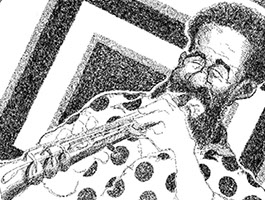 Grover Washington, Jr. illustration