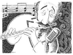 Herbie Mann illustration