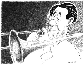 Jack Teagarden illustration
