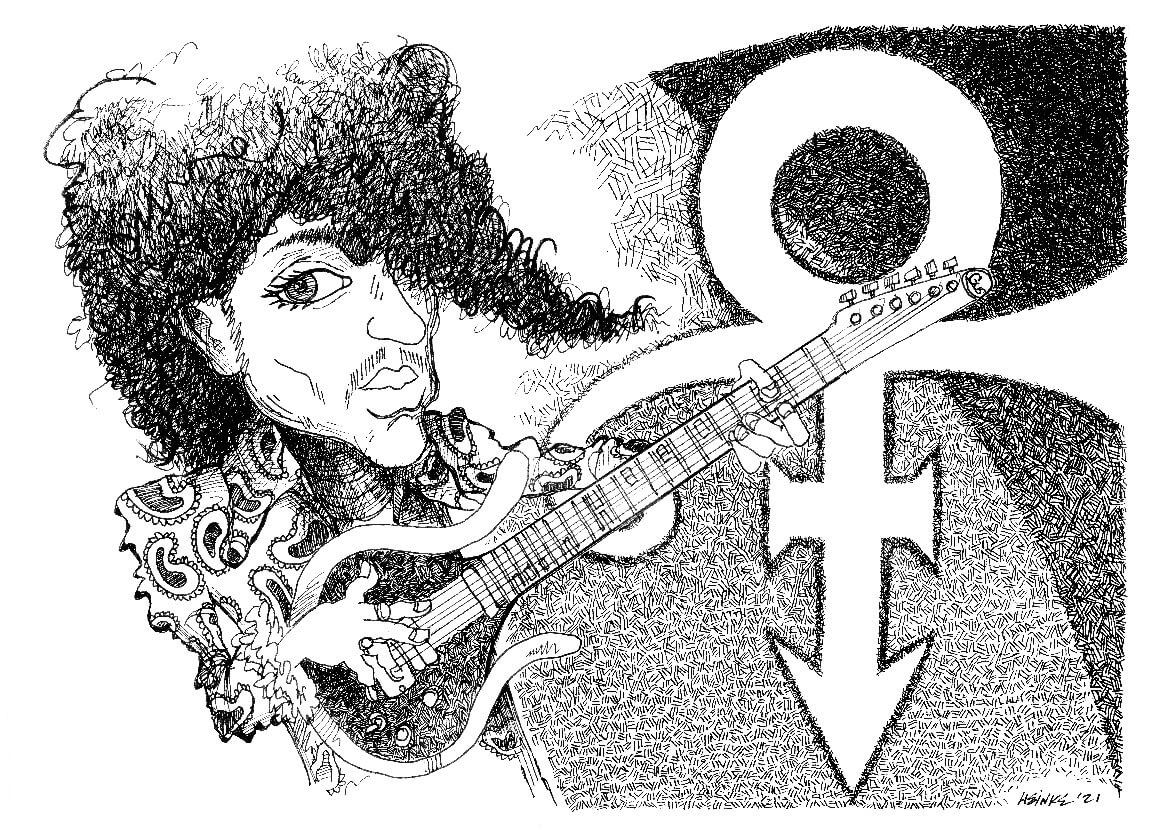 Prince illustration