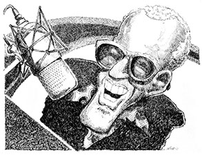 Ray Charles illustration